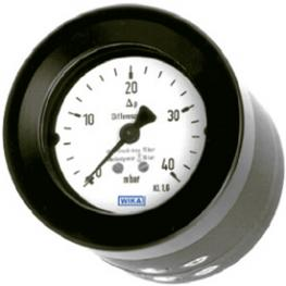 Манометр дифференциального давления С откалибровоной пружиной и уплотнительной мембраной Высокая защищенная перегрузка Модель 716.05