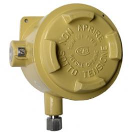 Переключатель давления с трубкой Бурдона, компактный, взрывозащита IP 65, модель BA