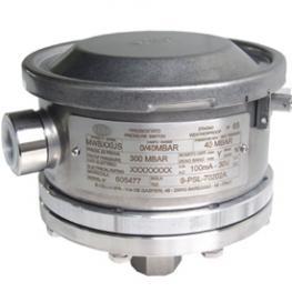 Мембранно-поршневой переключатель давления, серия из нержавеющей стали, для высокого давления, IP 65 модель MWH