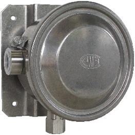 Переключатель давления с трубкой Бурдона, IP 65, модель BWX