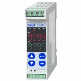 ПИД-контроллер температуры, самонастройка, реечная установка, размеры 22.5 x 75 мм, Модель CS4R