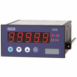 Цифровой индикатор для установки в панель Модель DI35