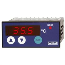 Контроллер температуры с цифровым индикатором Для монтажа в панель  Модель SC58