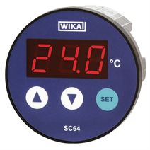 Контроллер температуры с цифровым индикатором Модель SC64